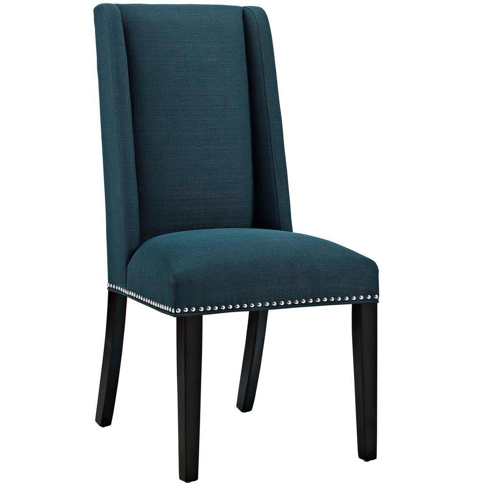 Baron Azure Fabric Dining Chair