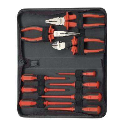Insulated Pliers and Screwdriver Set (10-Piece)