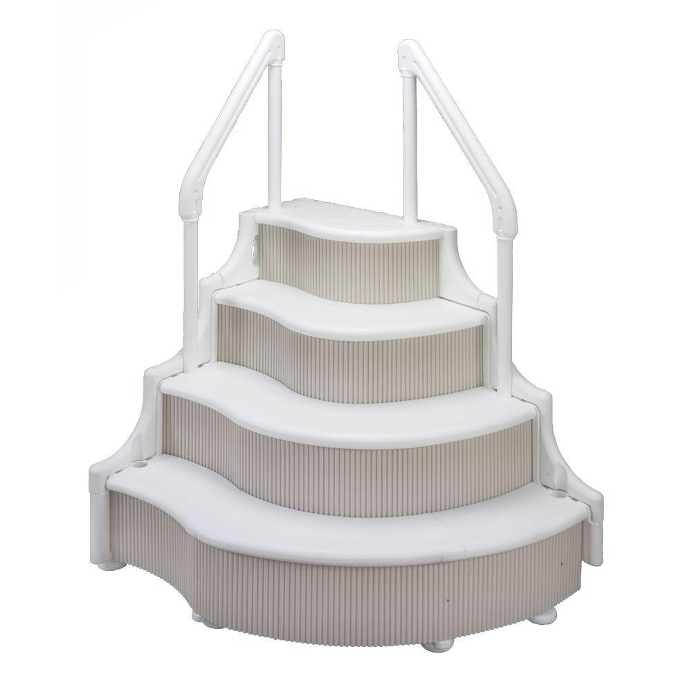Ocean Blue Grand Entrance Step for Above Ground Pools-DISCONTINUED