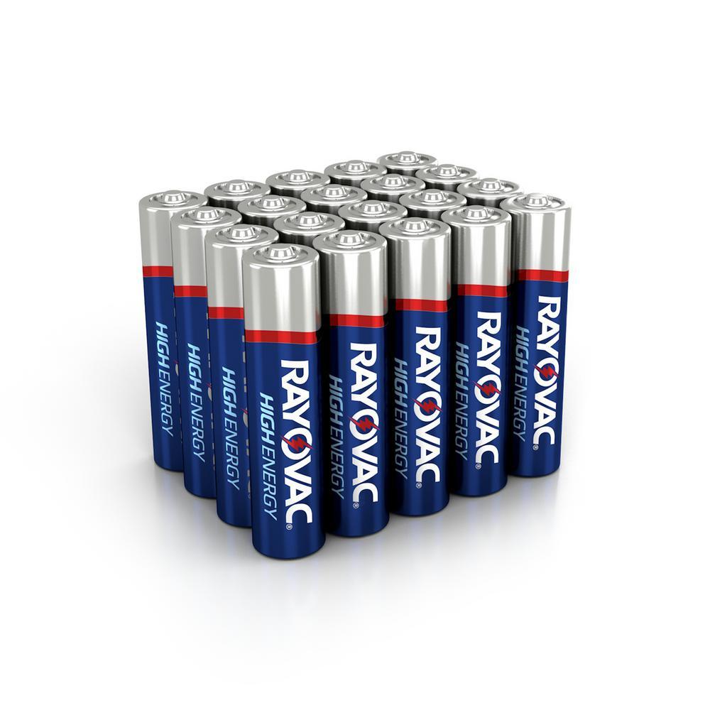 High Energy Alkaline AAA/1.5-Volt Battery (20-Pack)