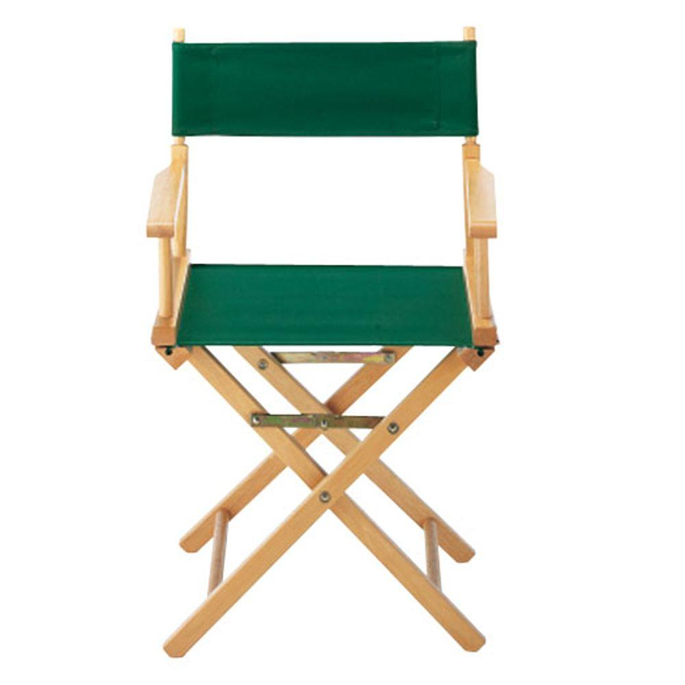 Casual Home Hunter Green Director's Chair Cover
