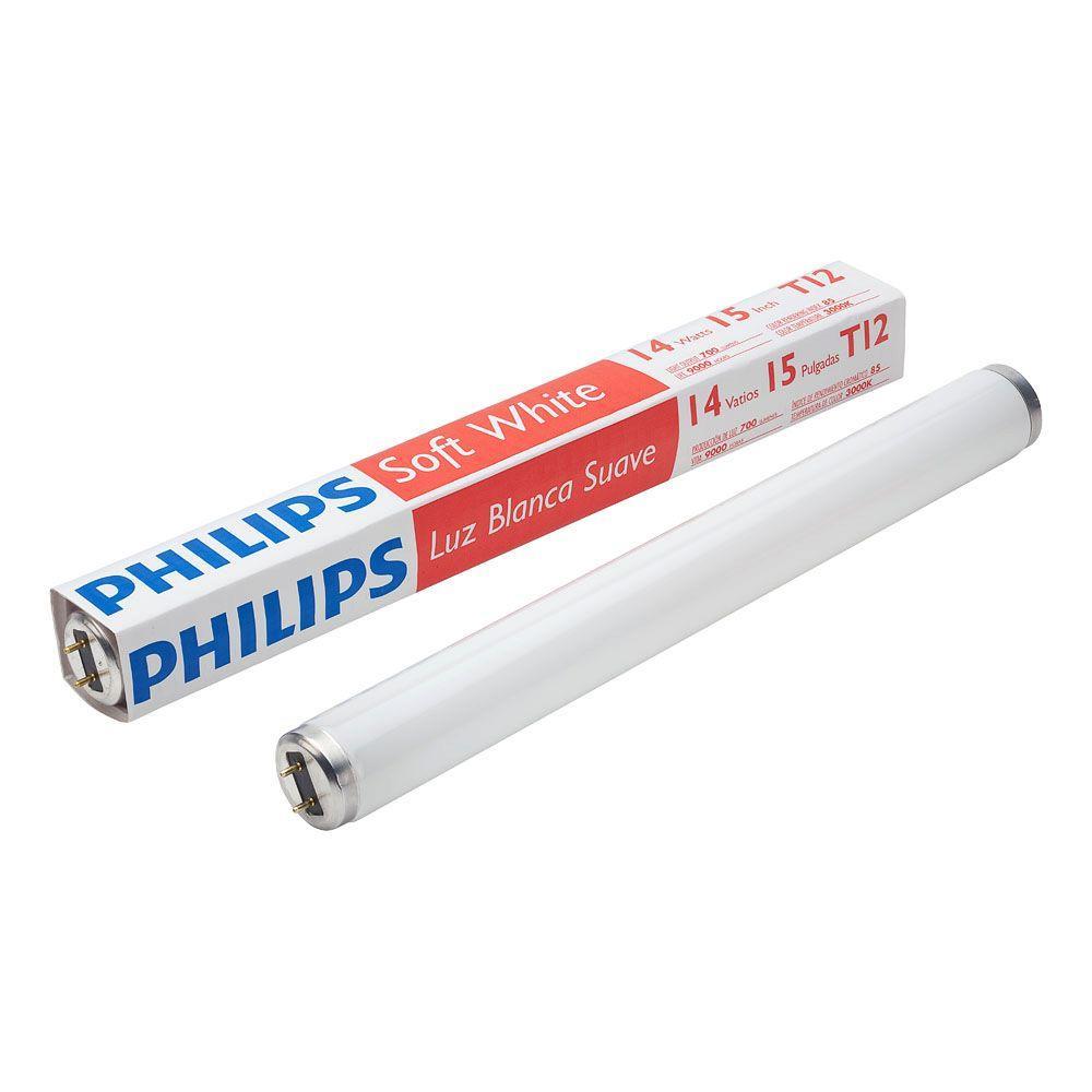 14-Watt 15 in. Linear T12 Fluorescent Light Bulb Soft White (3000K)