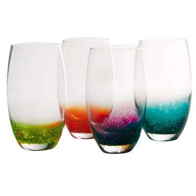 21 in. Highball Glasses (Set of 4)