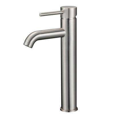 Upscale Designs Single Hole Single-Handle Bathroom Faucet in Brushed Nickel