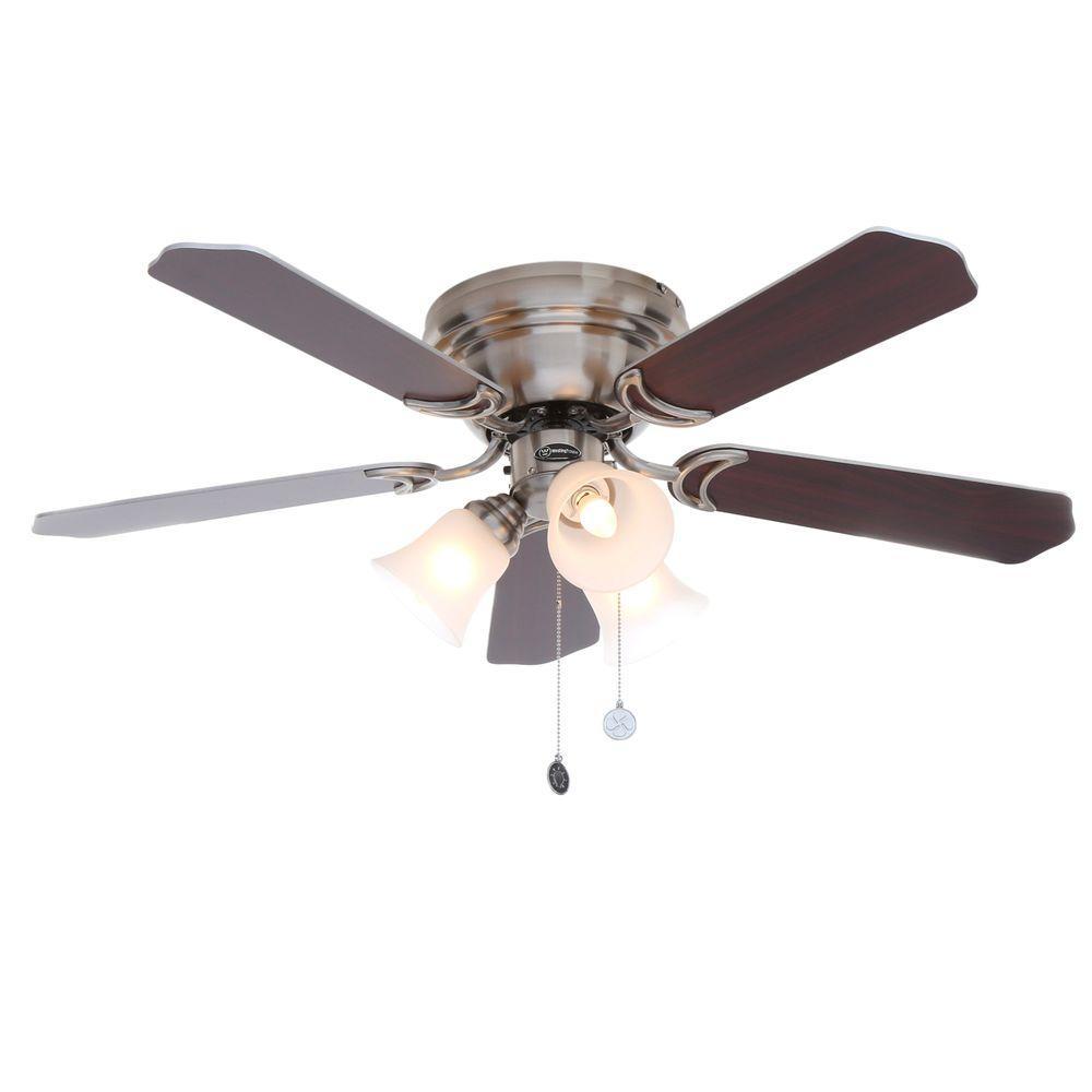 Westinghouse Contempra Trio 42 in. Brushed Nickel Ceiling Fan
