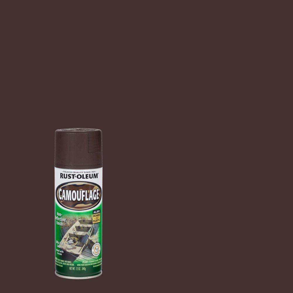 Rust Oleum Specialty 12 Oz Earth Brown Camouflage Spray Paint