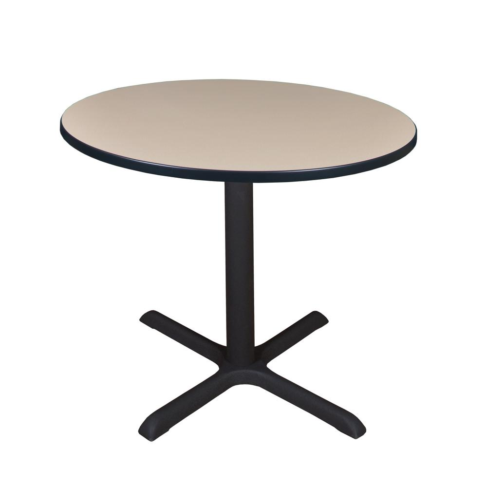 Cain Beige Round 36 in. Breakroom Table