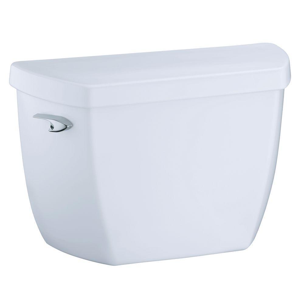 Highline 1.6 GPF Single Flush Toilet Tank Only in White