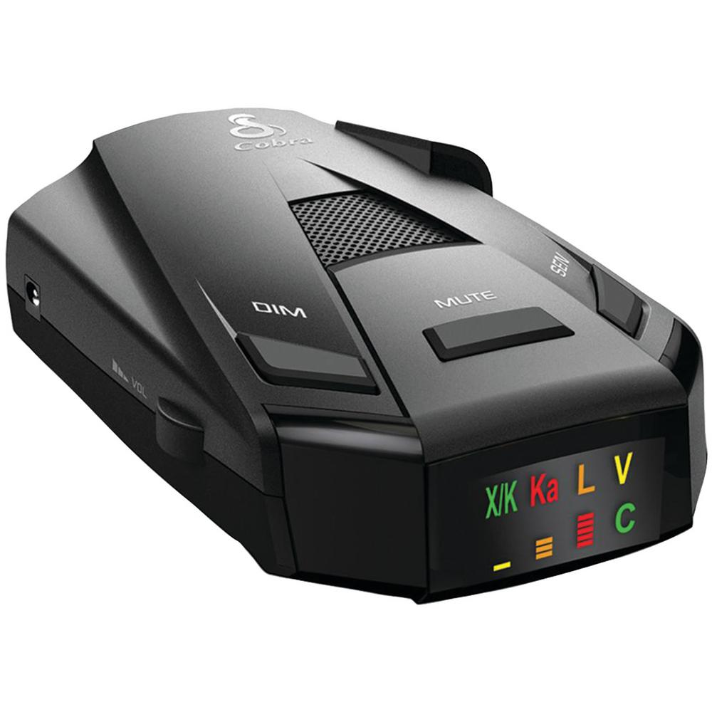 Cobra RAD 250 Radar/Laser Detector The Cobra RAD 250 Radar/Laser Detector keeps drivers aware of their surroundings while protecting them against all radar and laser guns used today. Its Anti-Falsing circuitry reduces false alerts from erroneous sources like collision avoidance systems so users hear just what they need to hear. The easy-to-read color display and easy-to-understand alerts provide and accurate and informed drive.