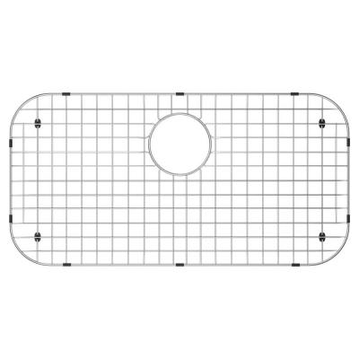 14 in. x 27 in. Sink Bottom Grid for Select Houzer Sinks in Stainless Steel