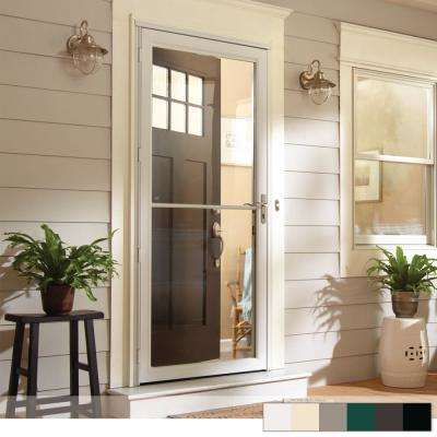 2500 Series Full View Retractable Aluminum Storm Door