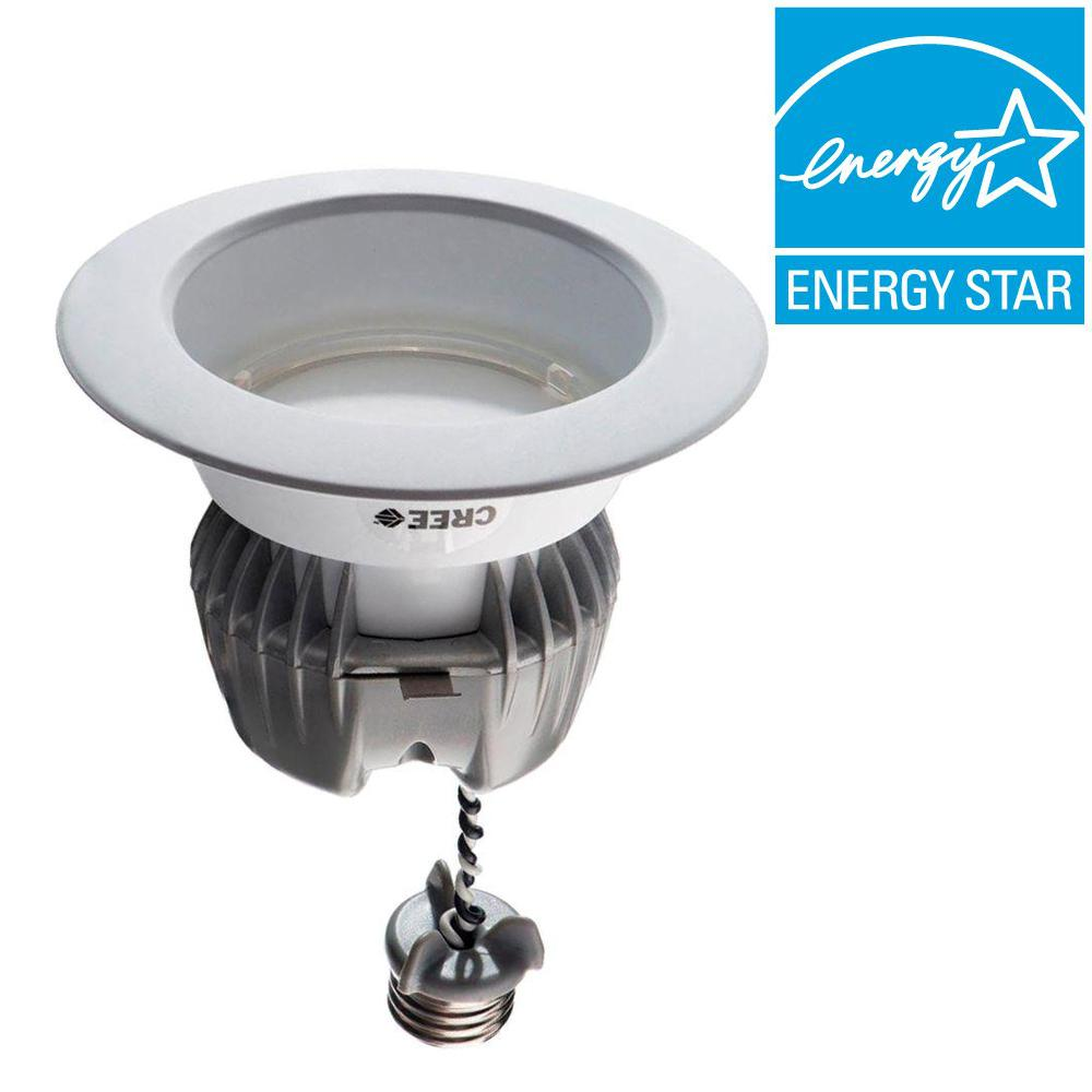 EcoSmart 65W Equivalent Soft White (2700K) 4 in. Dimmable LED Downlight (4-Pack)