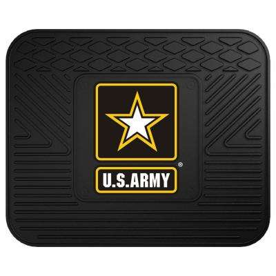 U.S. Army Heavy-Duty 17 in. x 14 in. Vinyl Utility Car Mat