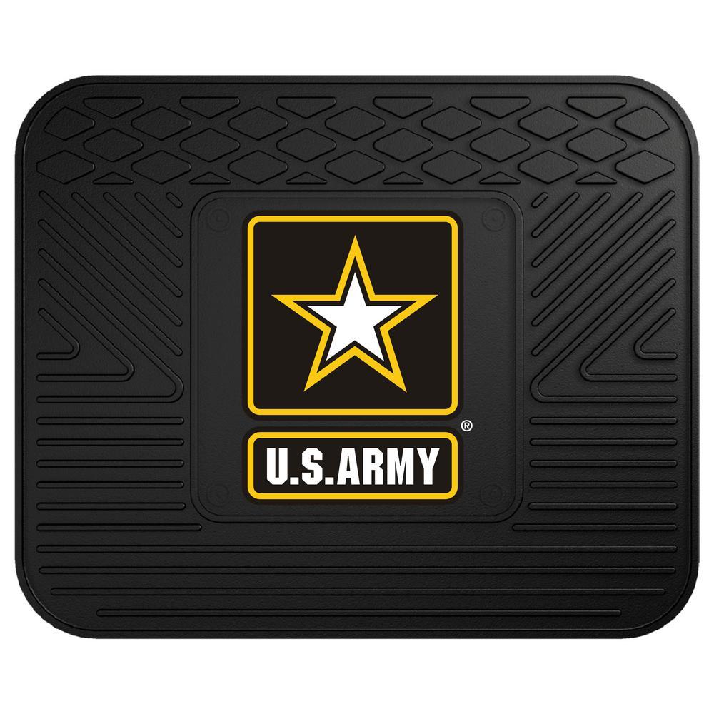 U.S. Army Heavy-Duty 17 in. x 14 in. Vinyl Utility Car Mat