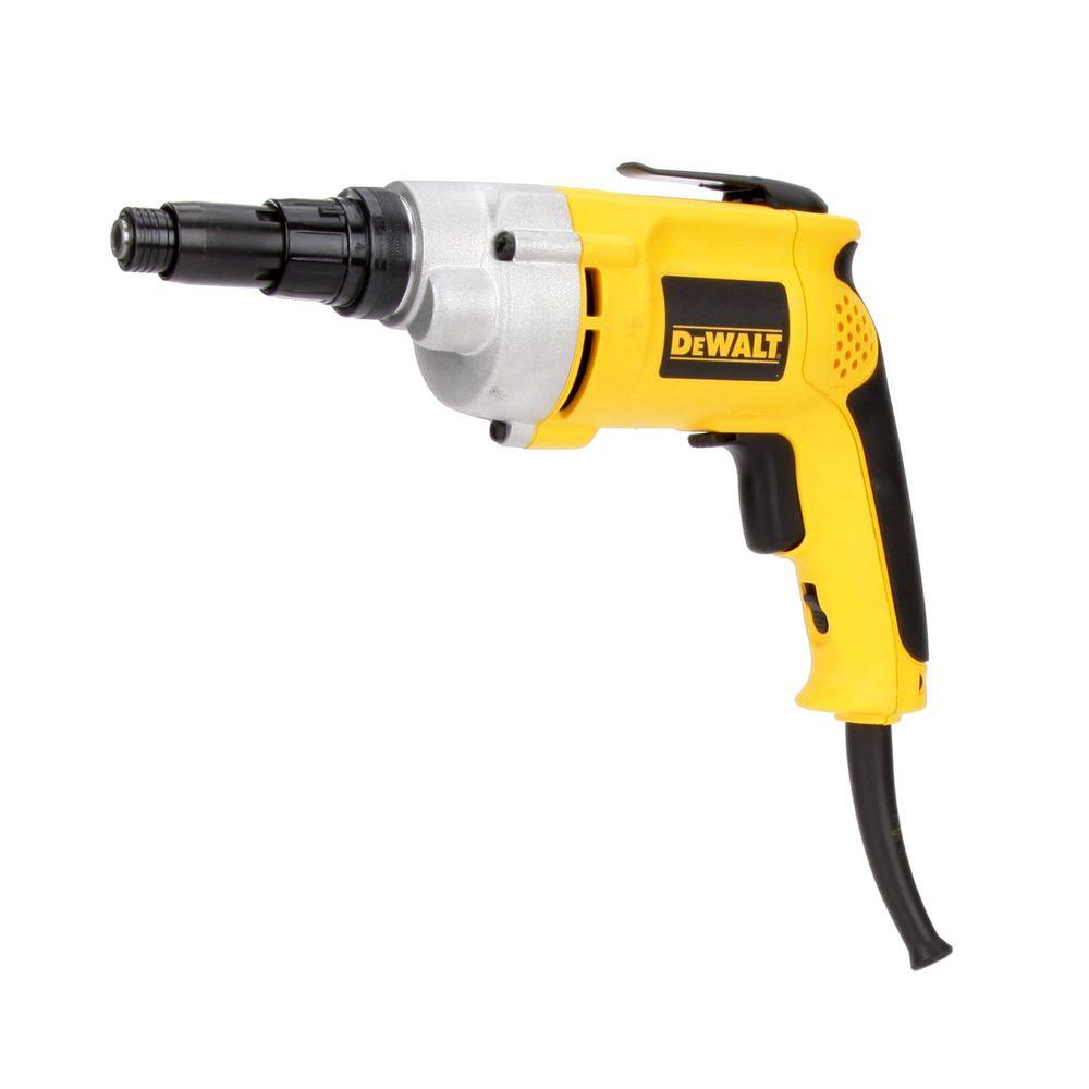 dewalt variable speed reversing versa clutch screwdriver dw268 the home depot. Black Bedroom Furniture Sets. Home Design Ideas