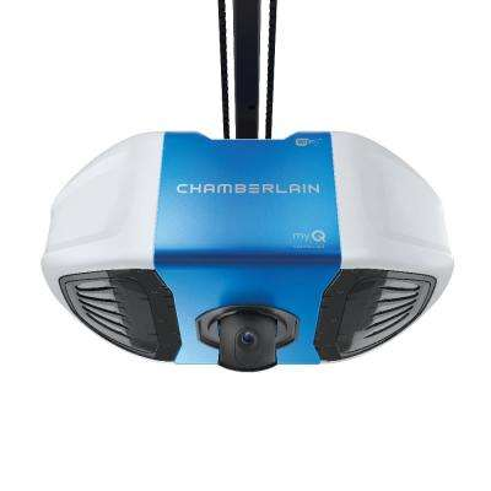 3/4 HP DC Belt Drive Wi-Fi Plus Lift Power with Integrated Camera Garage Door Opener
