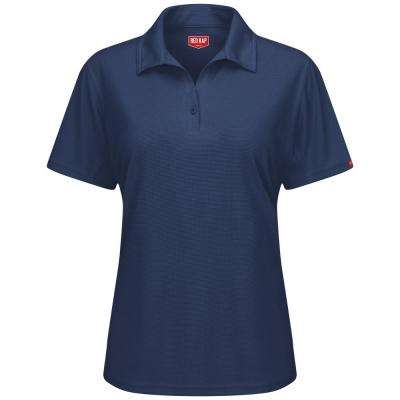 Women's Size XL Navy FeProfessional Polo
