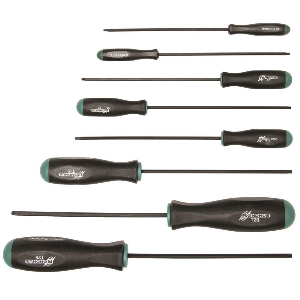 TORX Screwdriver Set with ProGuard (8-Piece)