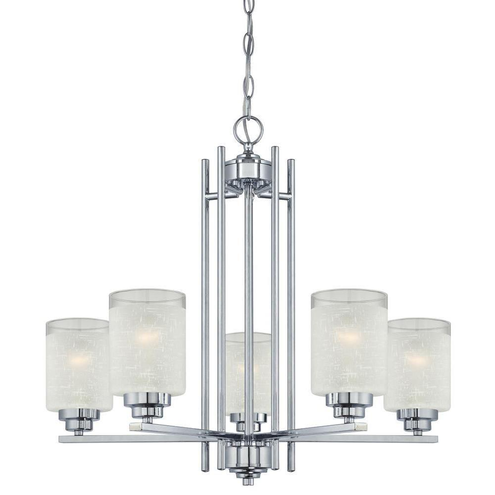 Hansen 5-Light Chrome Chandelier