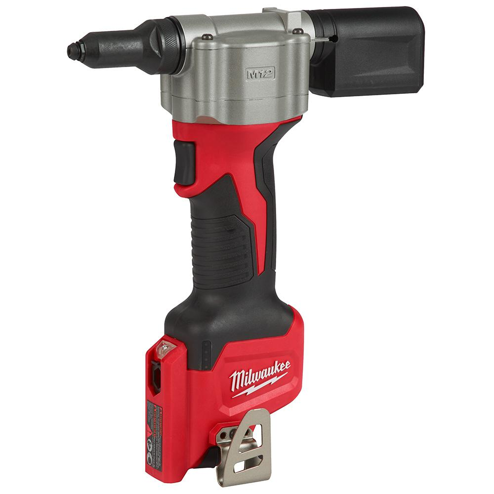 Milwaukee M12 12 Volt Lithium Ion Cordless Rivet Tool