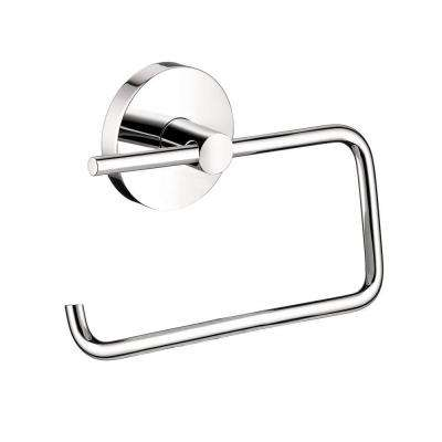 S/E Brass Single-Post Toilet Paper Holder in Chrome