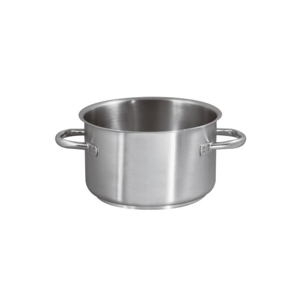 Paderno World Cuisine 5 14 Qt Induction Stainless Steel Sauce Pot