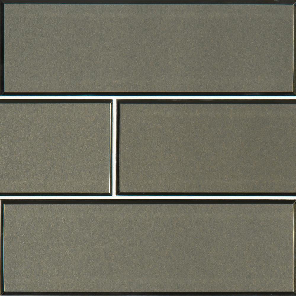 Msi Metallic Gray 4 In X 12 Gl