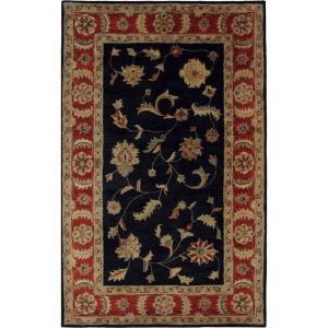 Dynamic Rugs Charisma Black/Red 6 ft. 7 inch x 9 ft. 6 inch Indoor Area Rug by Dynamic Rugs