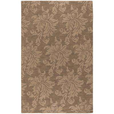 Sofia Brown 9 ft. x 12 ft. Area Rug