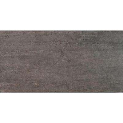 Metropolis Gray 12 in. x 24 in. Glazed Porcelain Floor and Wall Tile (14 sq. ft. / case)