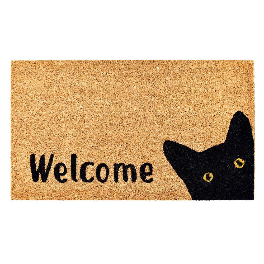 Kitty Korner Doormat