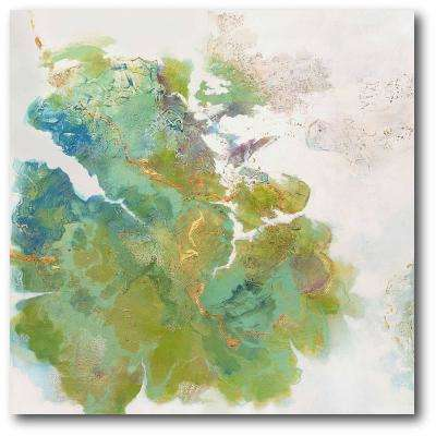 "30 in. x 30 in. ""Lichen I"" Gallery Wrapped Canvas Printed Wall Art"