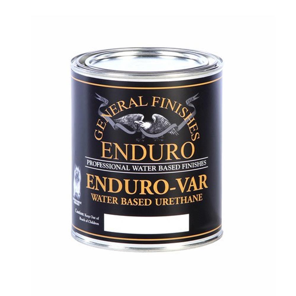 1 qt. Flat Enduro-Var Urethane Interior Topcoat