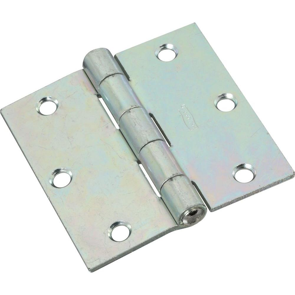 National Hardware 3-1/2 in. Non-Removable Pin Hinge-V505 3-1/2 TP ...