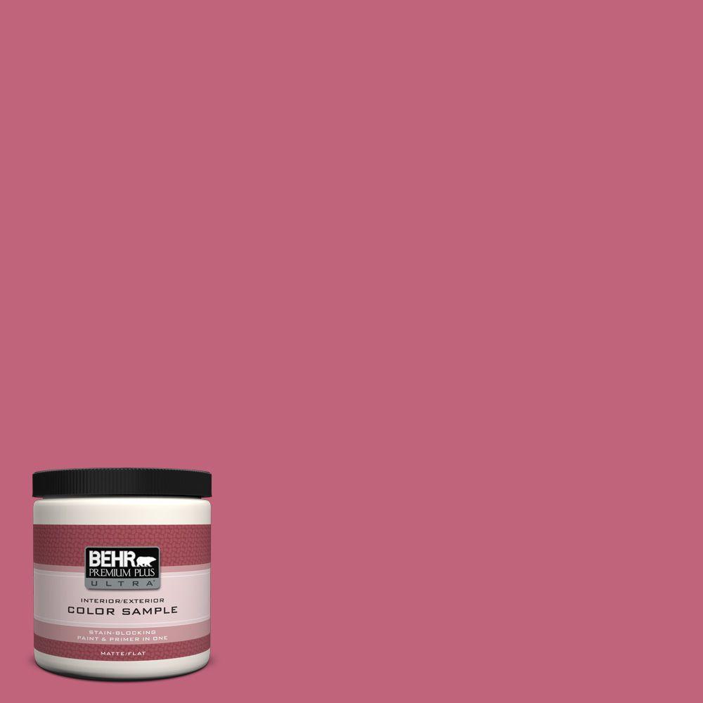 8 oz. #120D-4 Mulberry Interior/Exterior Paint Sample