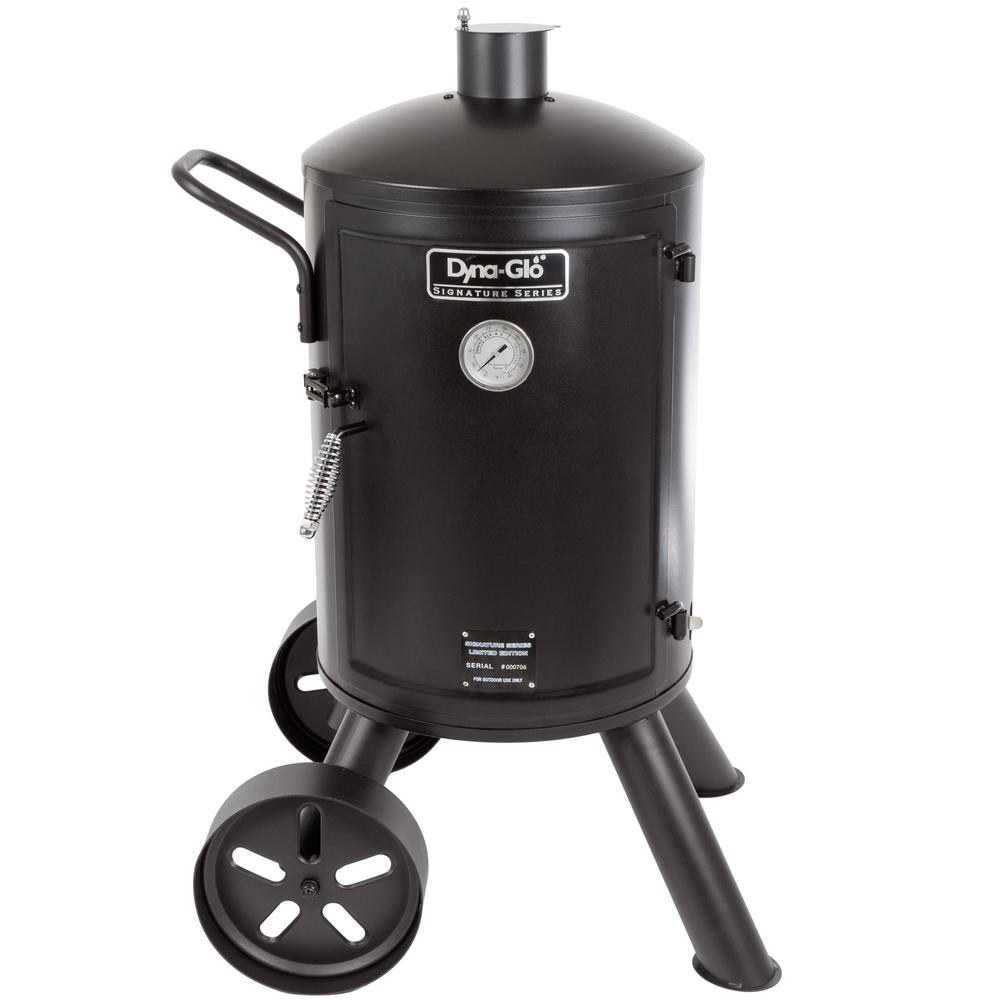 Dyna-Glo Signature Series Heavy Duty Vertical Charcoal Smoker in Black