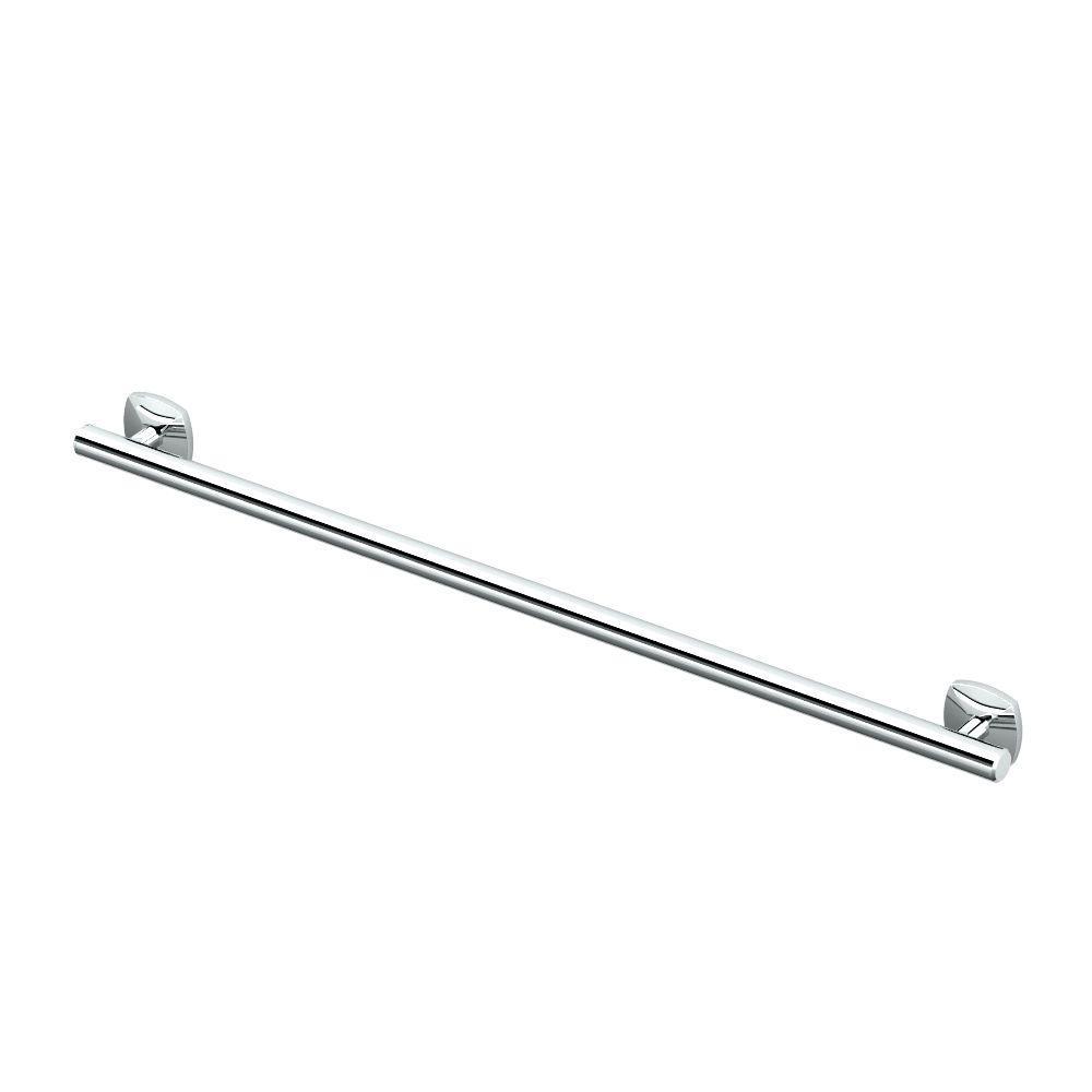 Gatco Jewel 36 in. L Grab Bar in Chrome