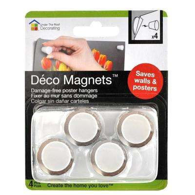 Deco Magnets in White