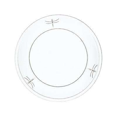 Dragonfly 9.75 in. Dinner Plate (Set of 6)