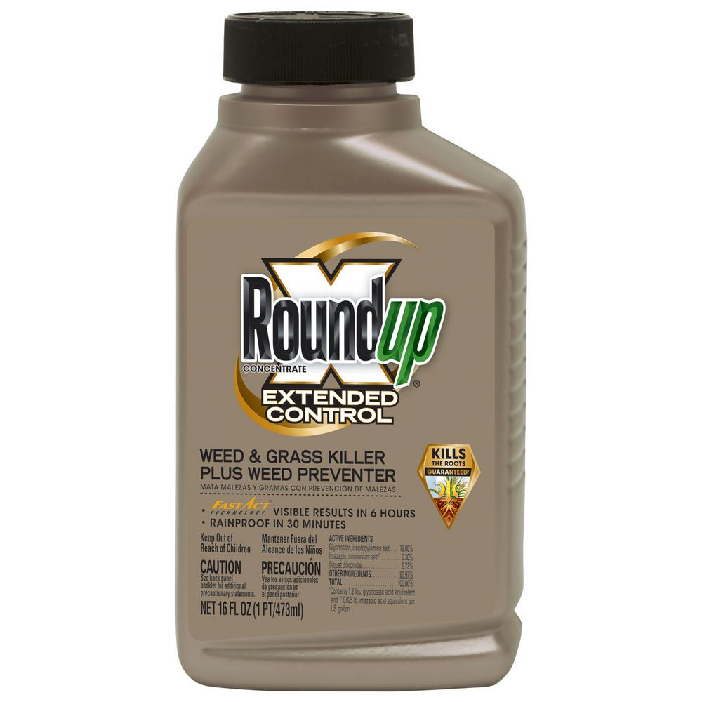 Scotts Co. Roundup Extended Control Weed & Grass Killer Plus Weed Preventer 5720010