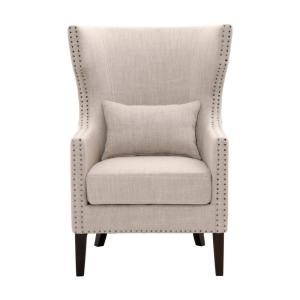 Excellent Home Decorators Collection Bentley Birch Neutral Upholstered Beatyapartments Chair Design Images Beatyapartmentscom