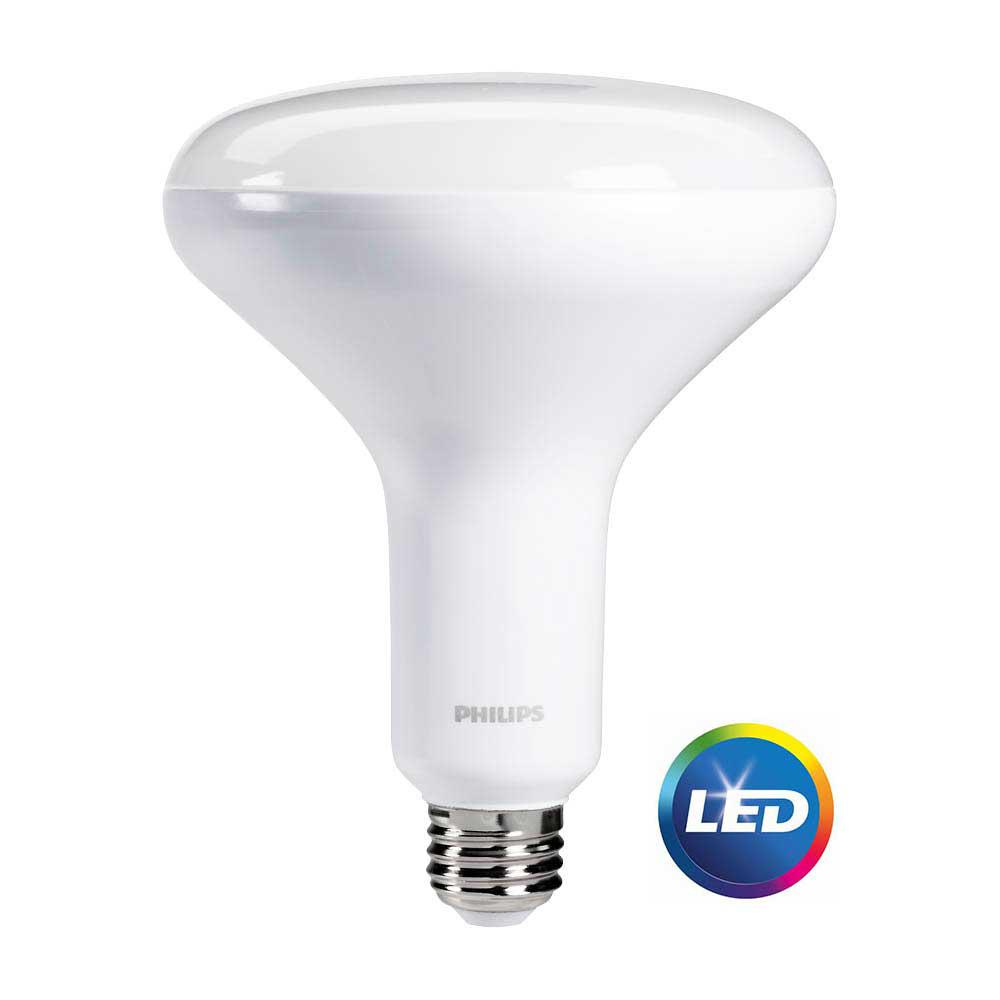 Philips 40/60/100W Equivalent Soft White (2700K) 3-Way A21 ...