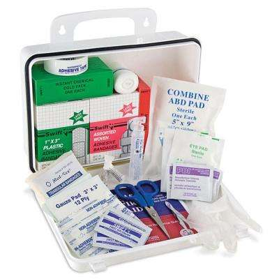 Plastic 25 Person First Aid Kit