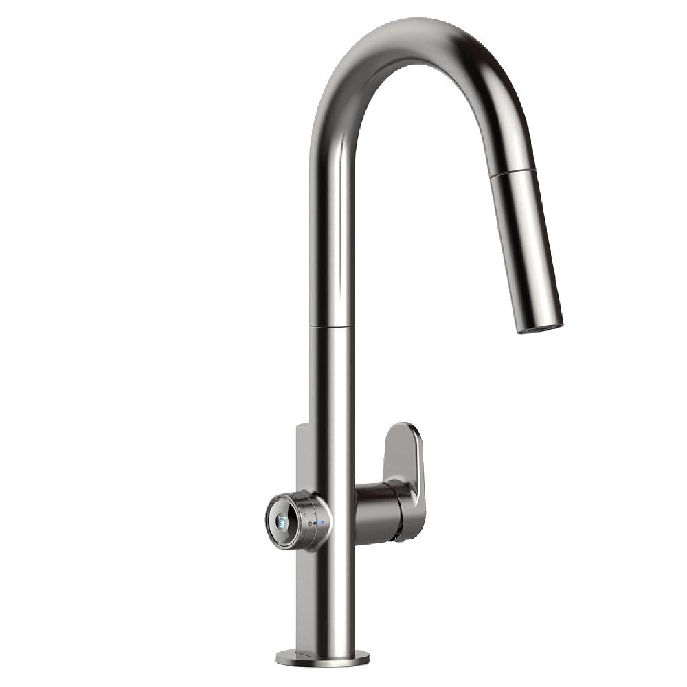 Beale MeasureFill Touch Single-Handle Pull-Down Sprayer Kitchen Faucet in Stainless Steel