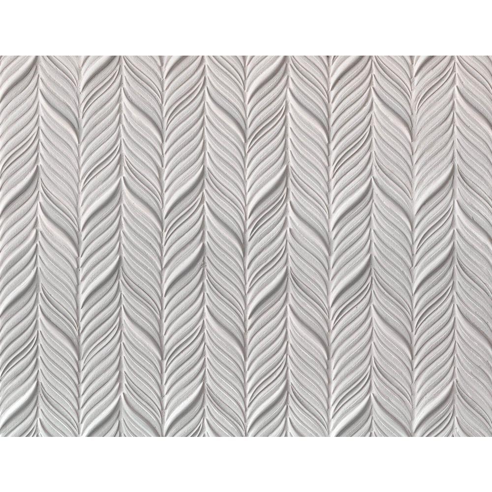 Oracle Alula Glacier White 10-1/4 in. x 11-7/8 in. x 10mm Glazed Ceramic Mosaic Tile