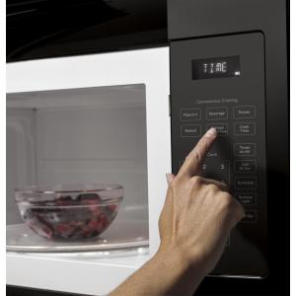 GE 1.6 cu. ft. Over the Range Microwave in Black Ge Microwave Oven Wiring Diagram Jvm K on