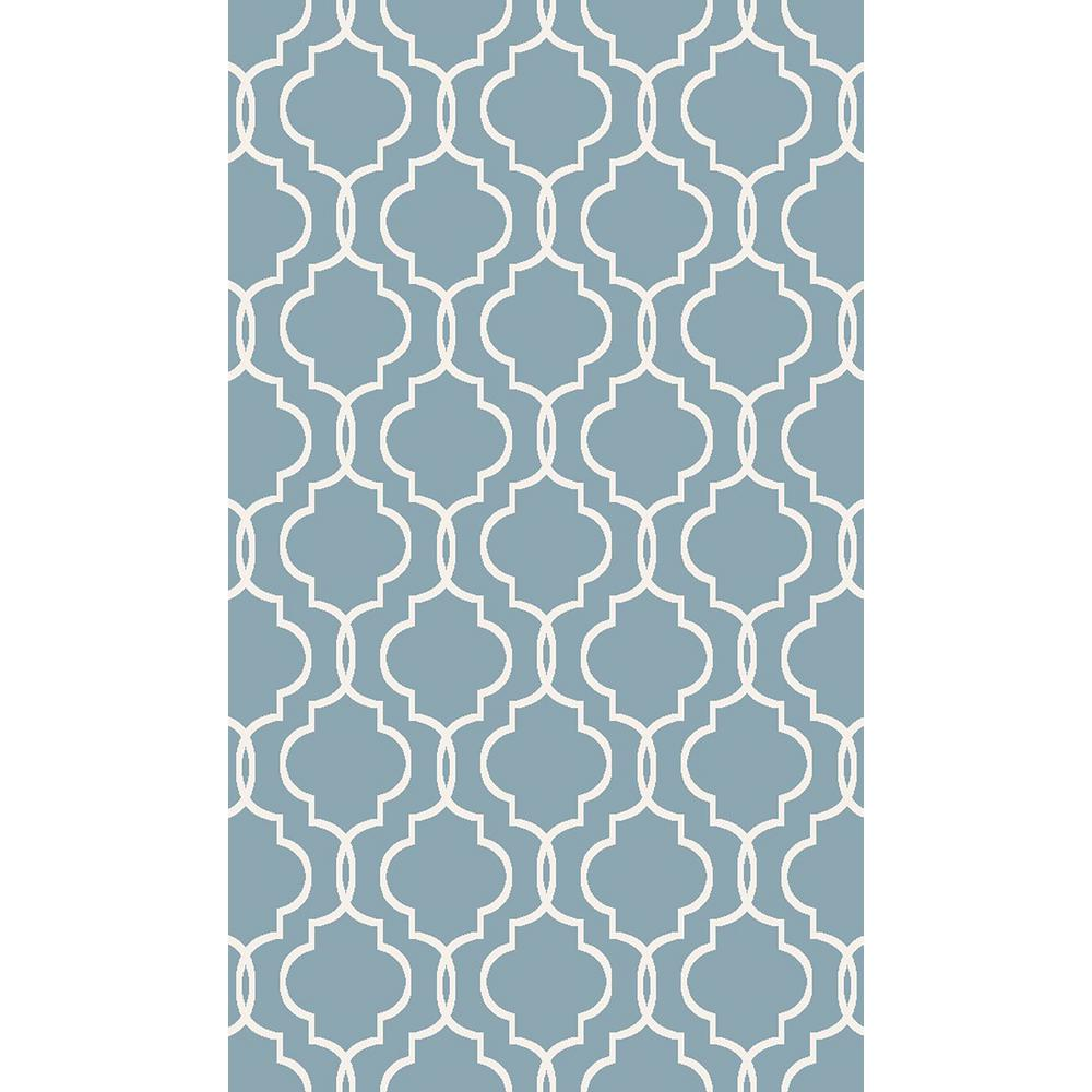 Leila Collection Multi Colored 3 Ft X 5 Area Rug