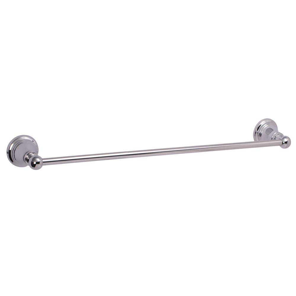 Ultra Faucets Traditional Collection 18 in. Towel Bar in Chrome