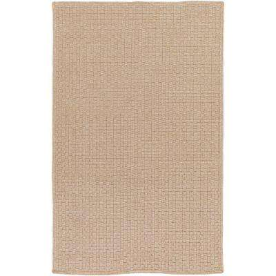 Caswell Taupe 4 ft. x 6 ft. Indoor/Outdoor Area Rug