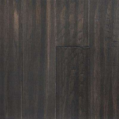 Take Home Sample - Shadow Gray Engineered Waterproof Hardwood Flooring - 5 in. Width x 6 in. Length